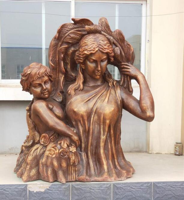 赞皇仿铜雕塑